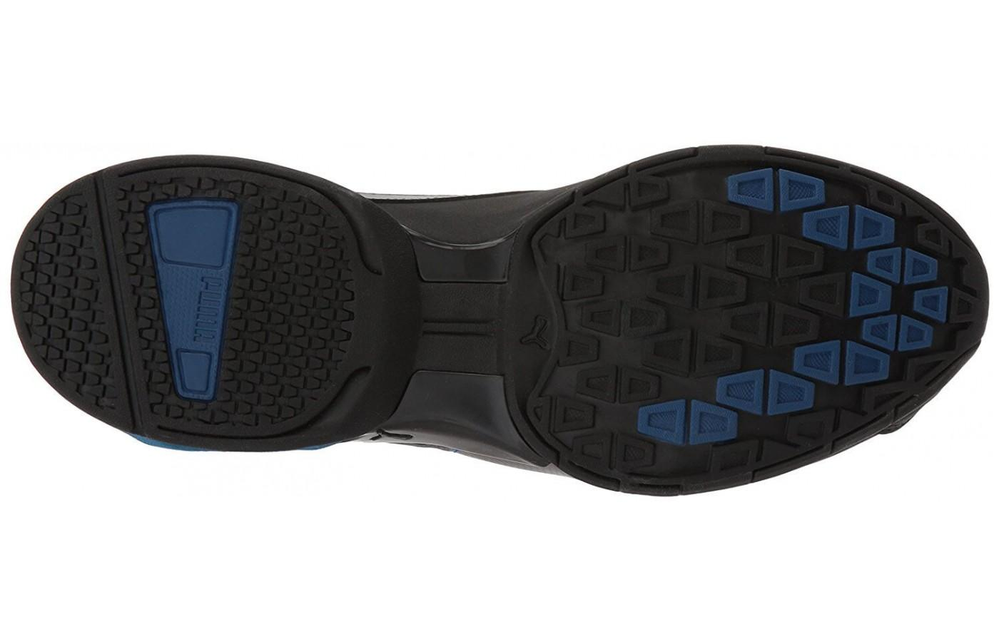 The special rubber outsole provides solid traction and durability