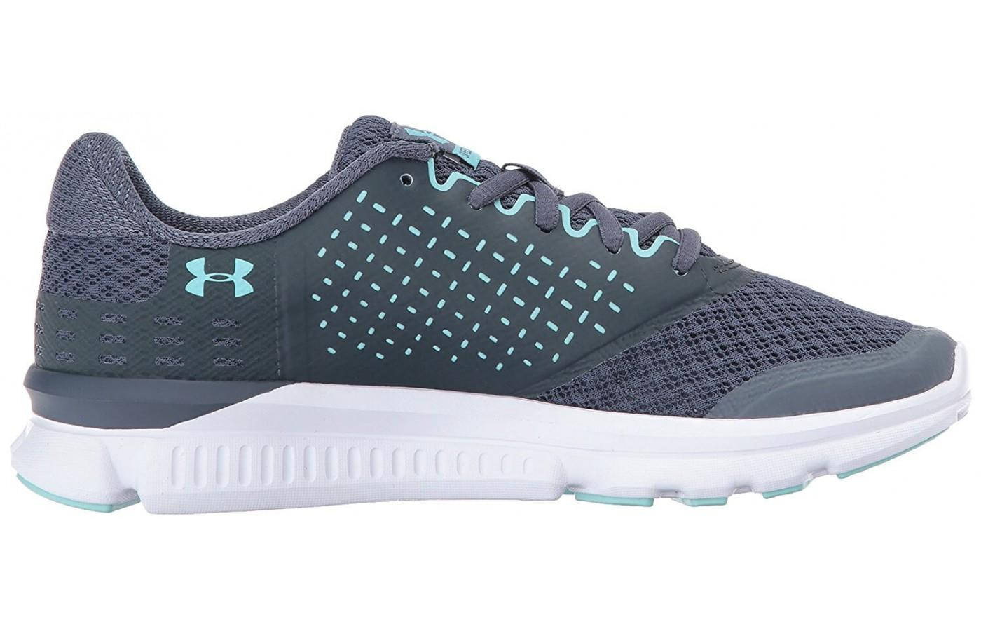 The Under Armour Speed Swift 2 features Micro G foam cushioning