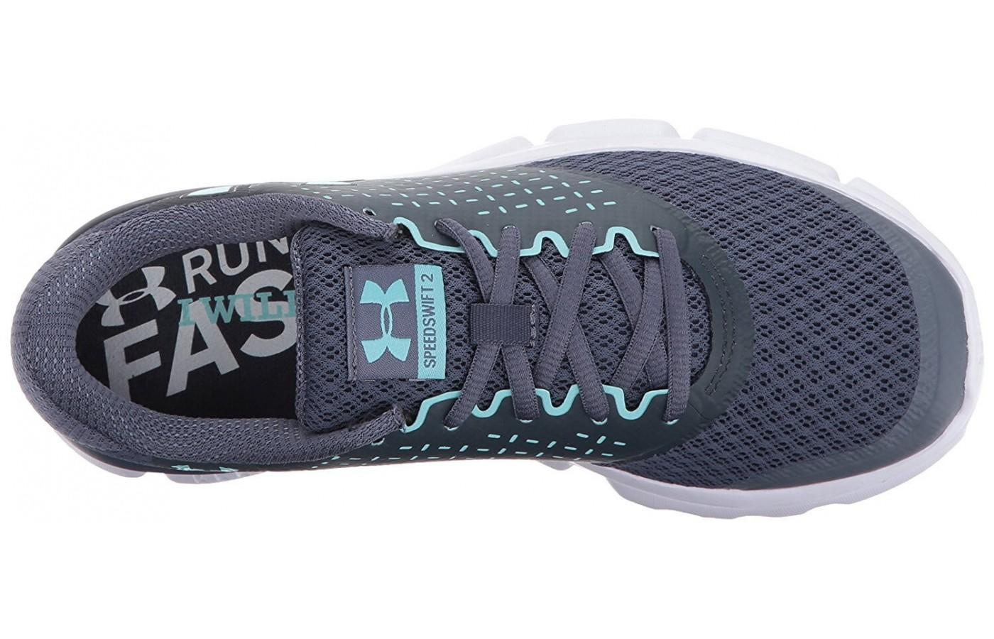 Under Armour Speed Swift 2 has a regular lacing system