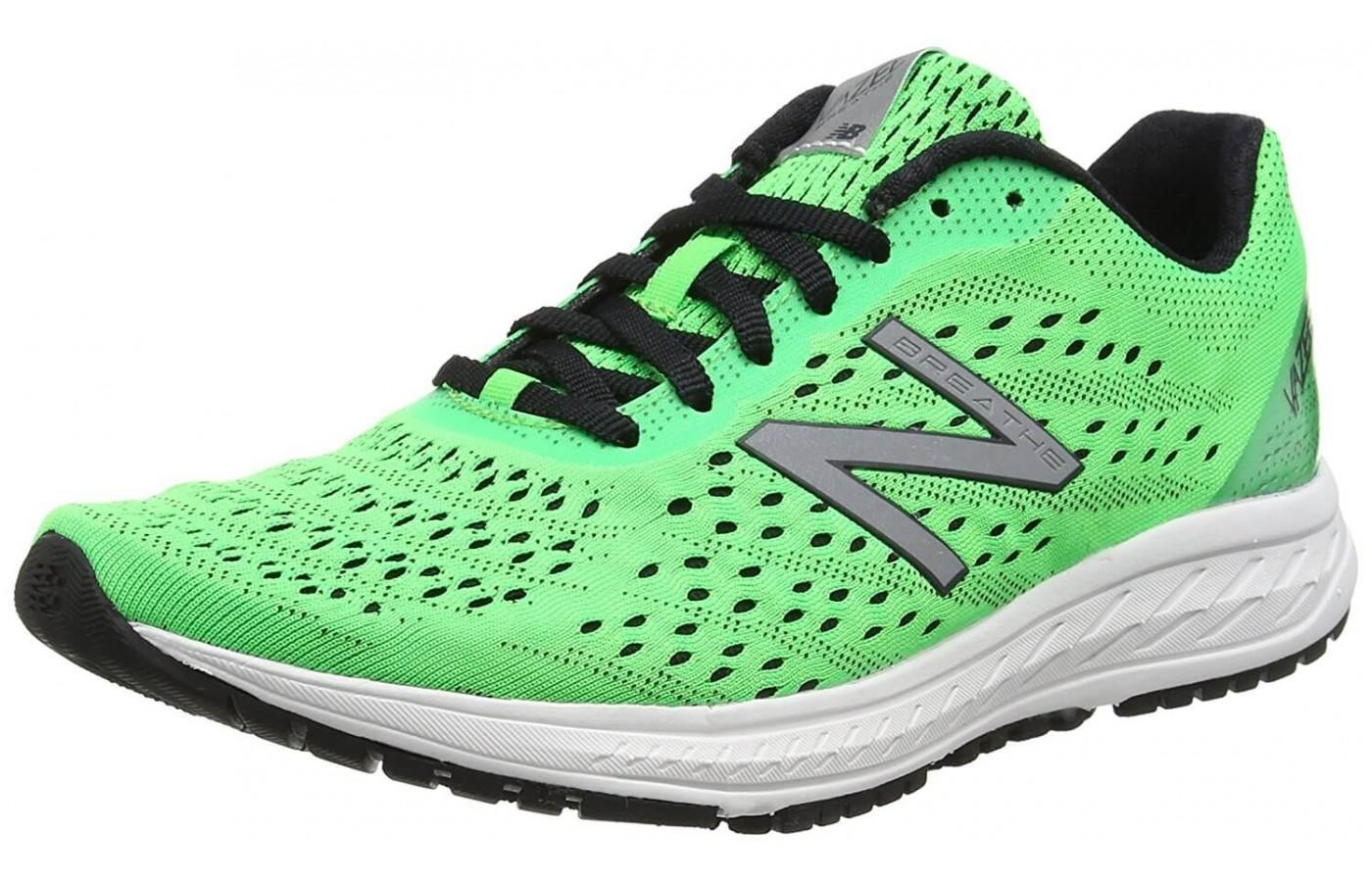The redesigned Vazee Breathe V2 provides additional breathablity and overall comfort for the runner.