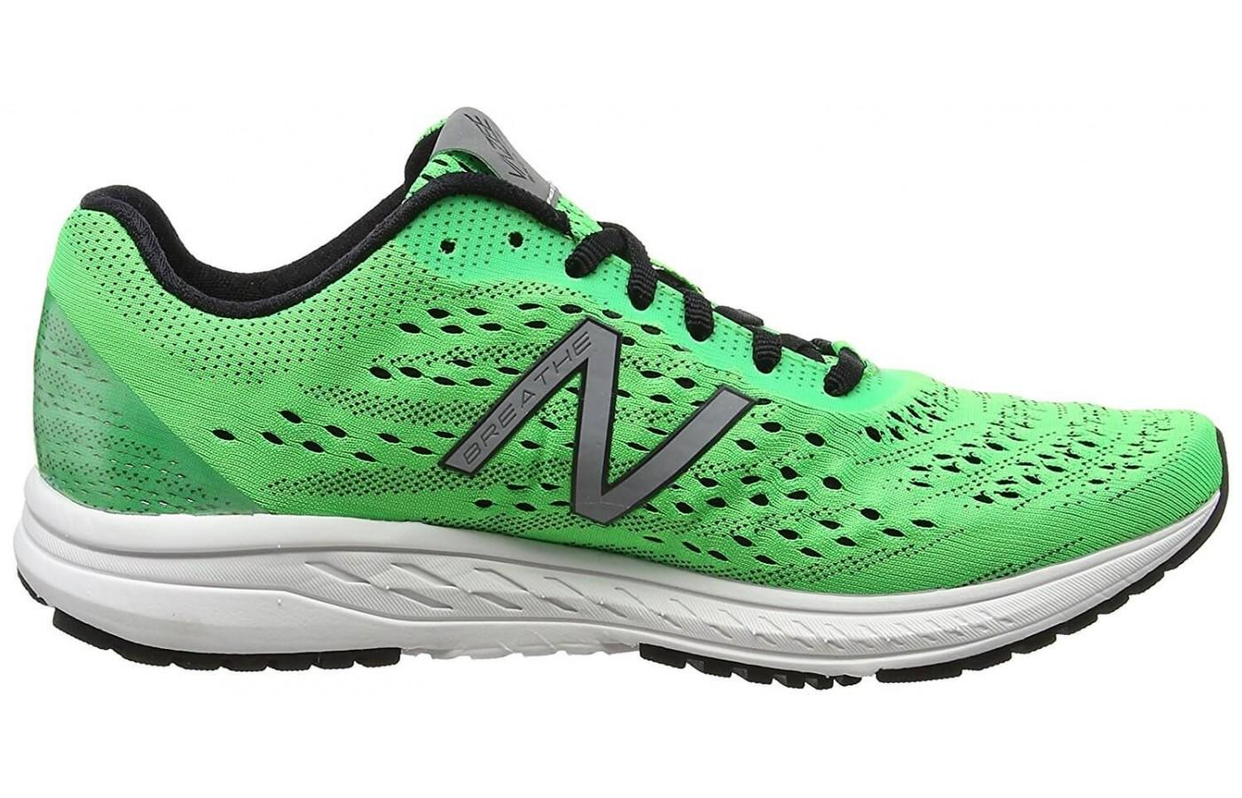 The upper has been redesigned to improve breathability and fit.