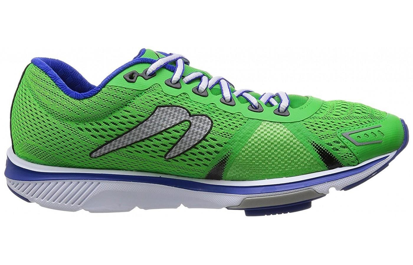 The upper provides maximum breathability to reduce moisture and discomfort.