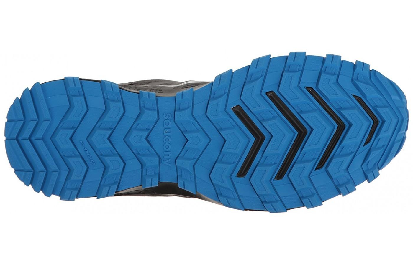 The outsole is aggressive and designed for the toughest conditions