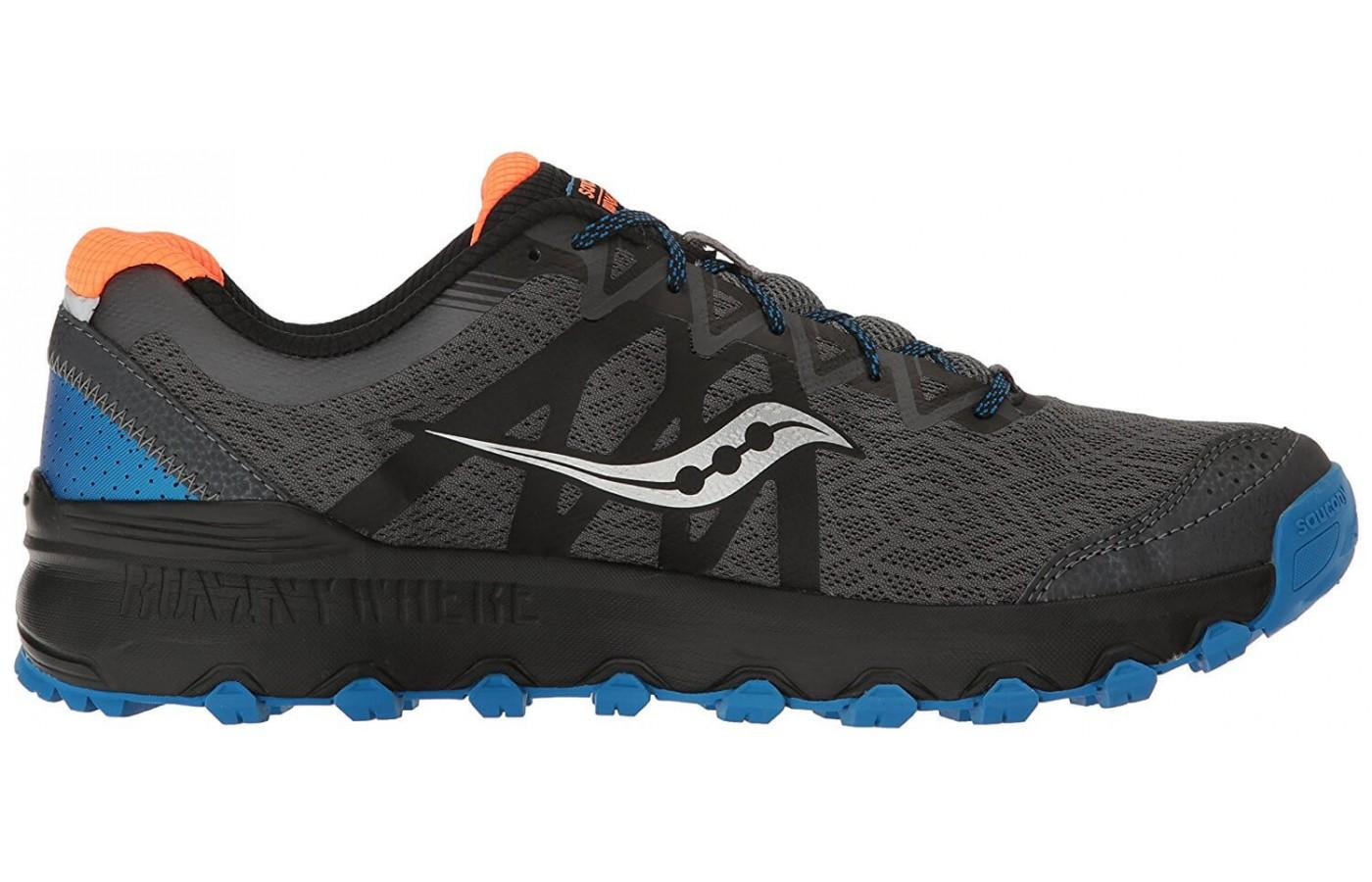 Runners love the rugged look and classic colors offered in this shoe.
