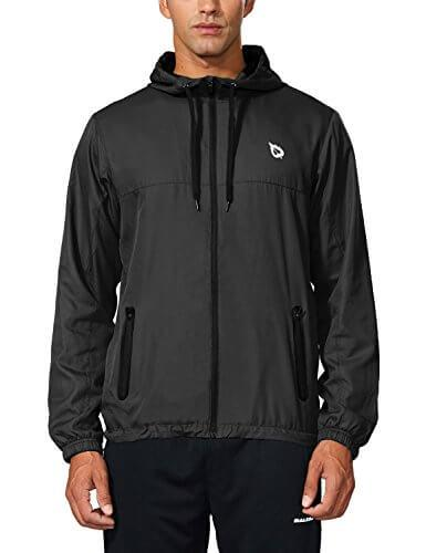 3. Baleaf Woven Hooded Windproof
