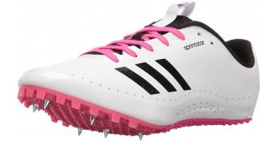 The best Adidas running spike shoes include the Sprintstar running shoes.