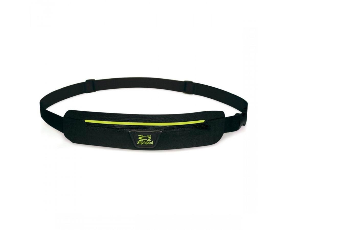The Amphipod Airflow Microstretch Belt features an adjustable belt