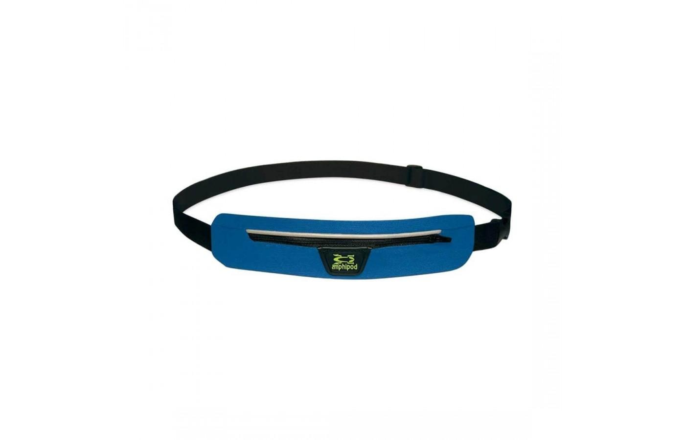 The Amphipod Airflow Microstretch Belt has reflective detailing
