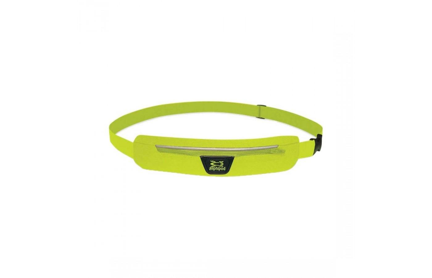 The Amphipod Airflow Microstretch Belt's pocket has a removable divider