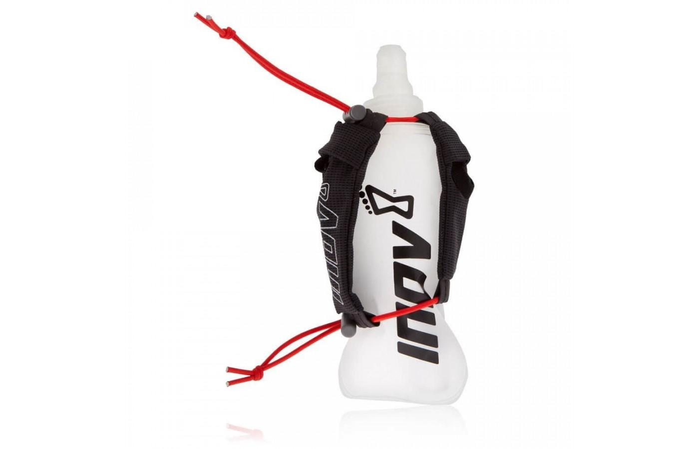 The Inov-8 Race Ultra Handheld Bottle is available in two sizes 250mL and 500mL