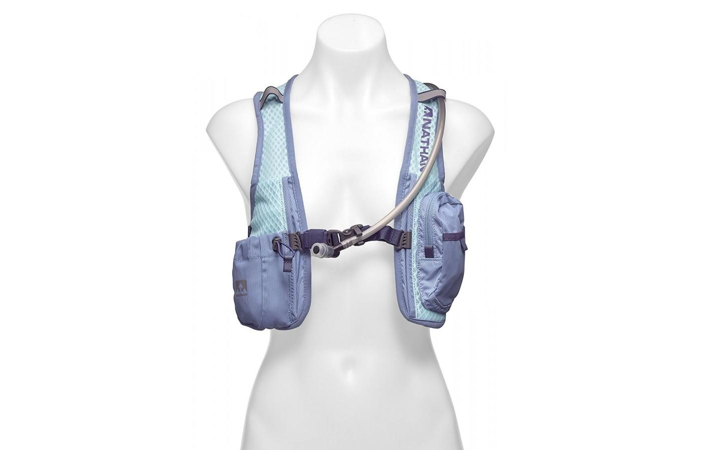 Nathan intensity race vest is a great lightweight hydration vest.