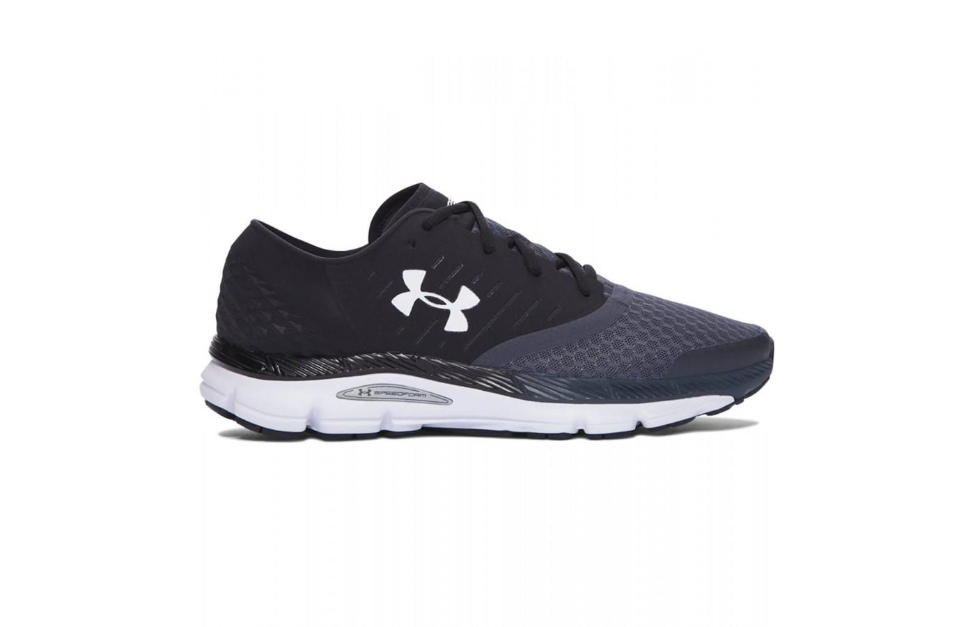 The Under Armour Speedform Intake is a minimalist shoe designed for speed