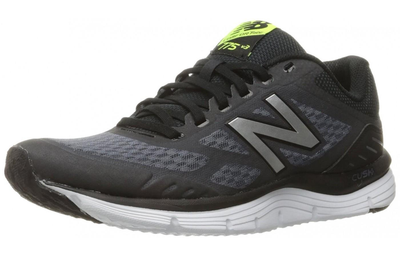 The 775 V3 lightened up the overlays on the upper to provide more breathability