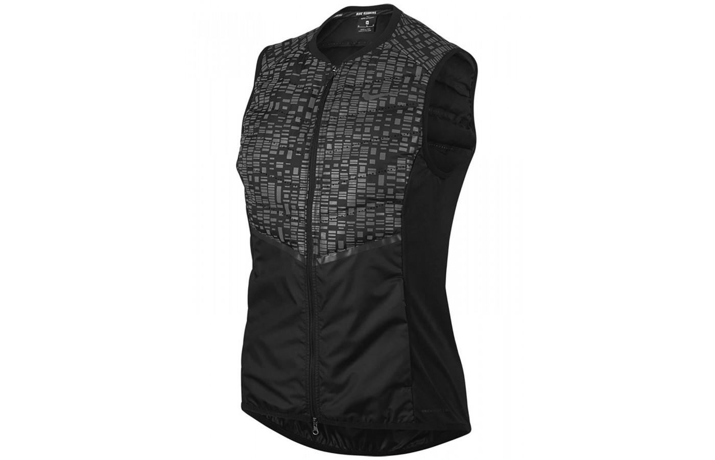 Nike AeroLoft Flash is a lightly insulated down fill vest ...