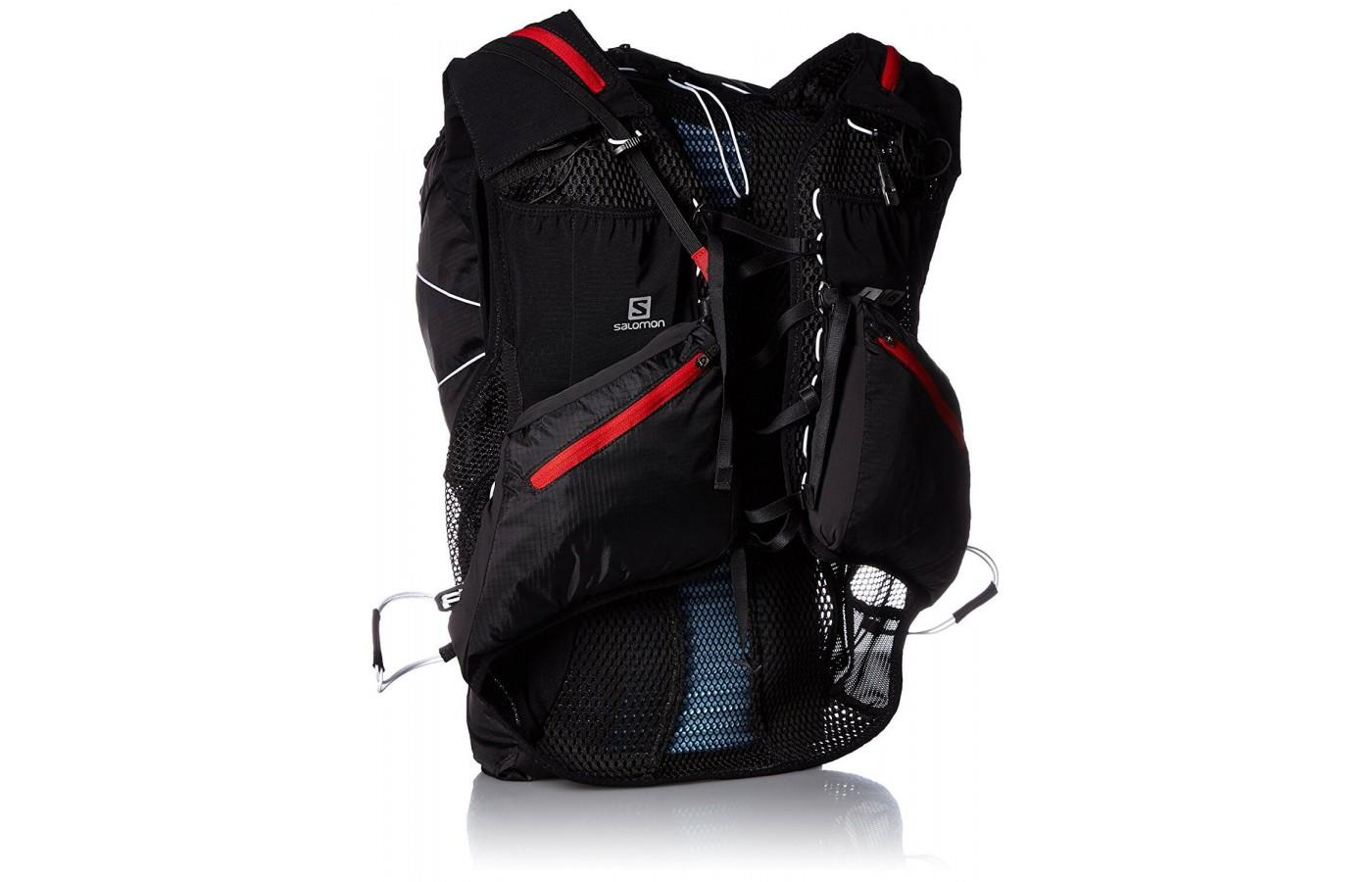 When loaded up, the Salomon S-Lab Peak 20 is robust and sturdy