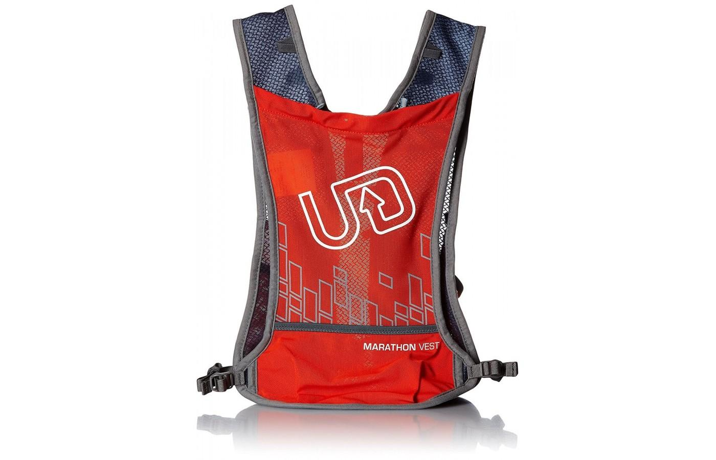 Ultimate Direction Marathon vest is hydration and carrying system for your longest runs.