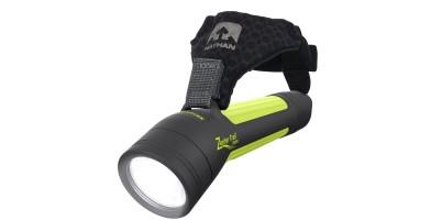 Nathan Zephyr Trail 200 is a perfect alternative to a head lamp.