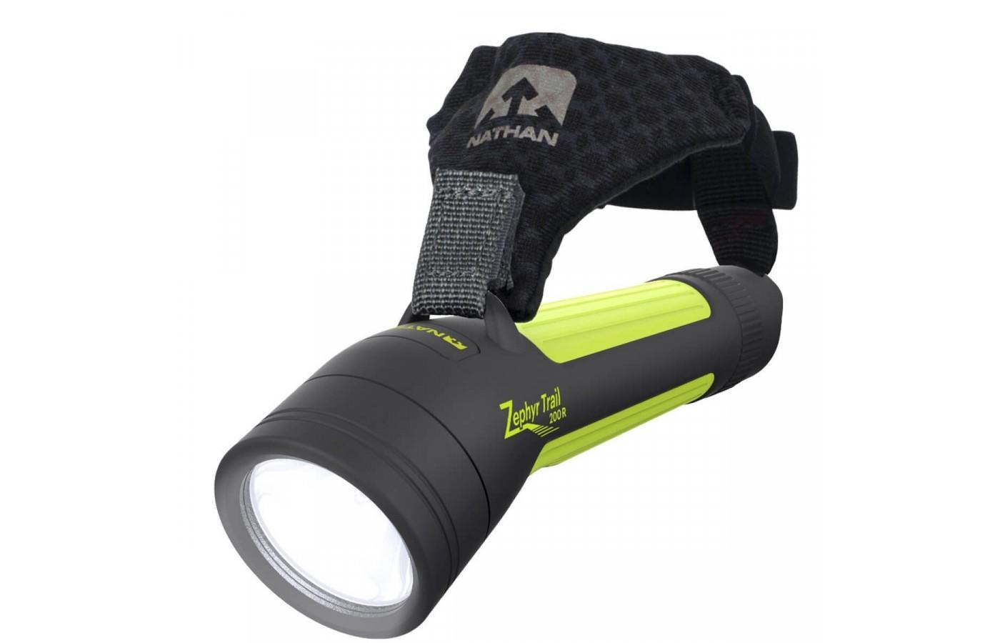 This hand torch provides the runner with a safety option that doesn't need to involve the head.