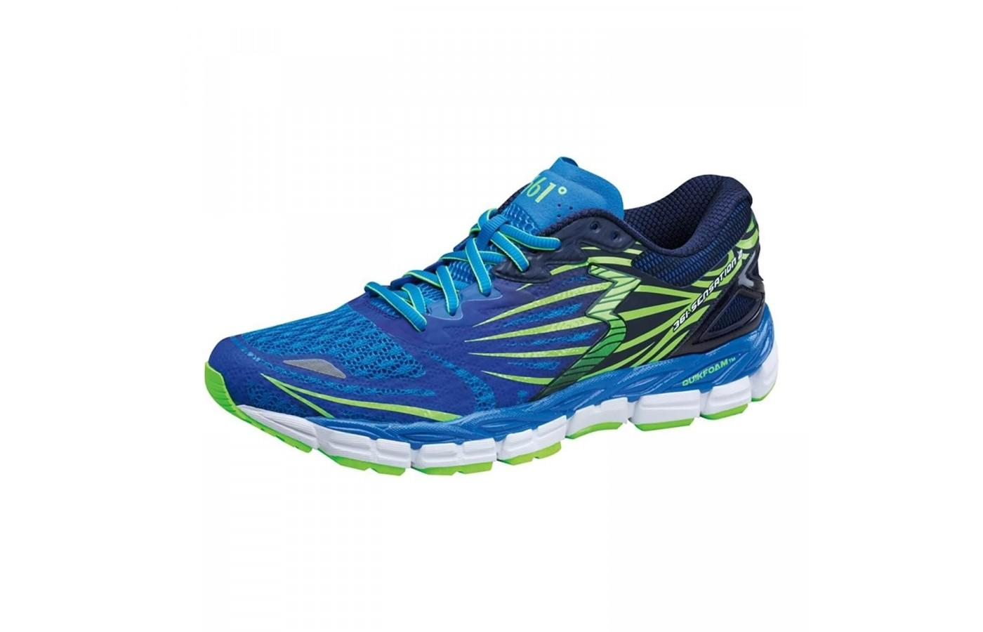 This is a heavier shoe and is great for runners who need mild to moderate pronation support.