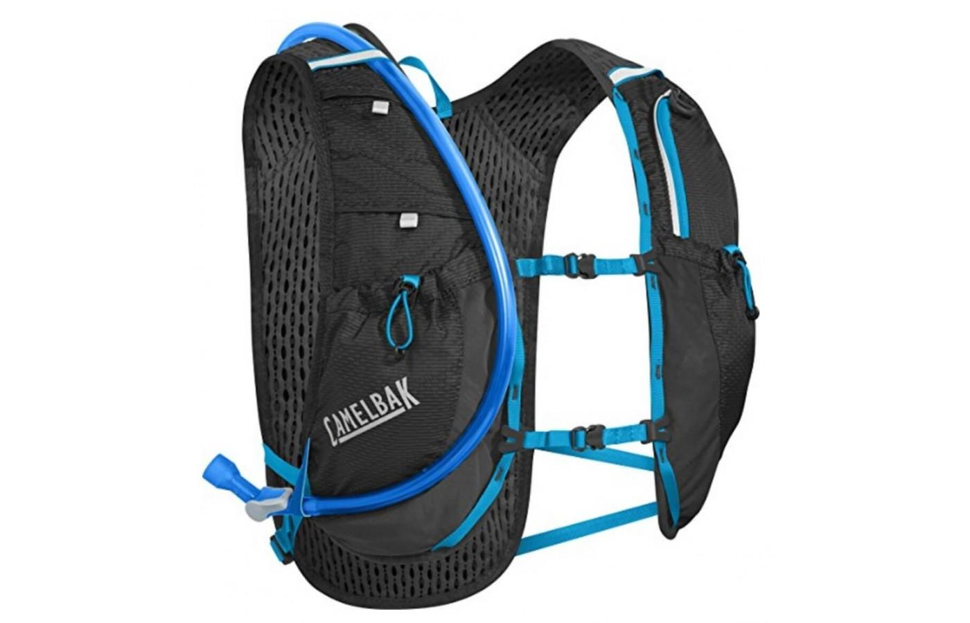 Circuit Vest is mainly for hydration and has limited storage