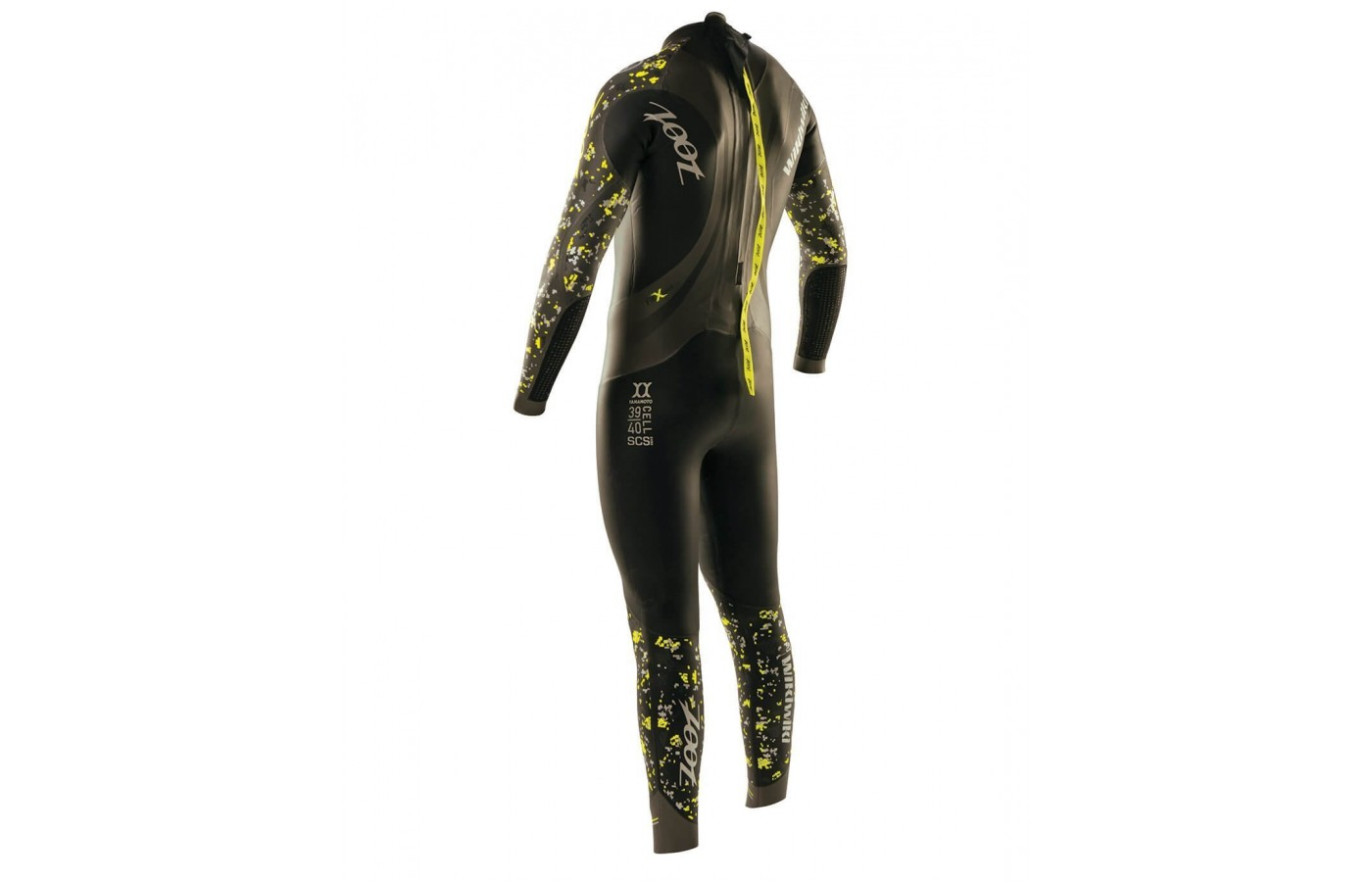 Mens Rear View Zoot Wikiwiki wetsuit