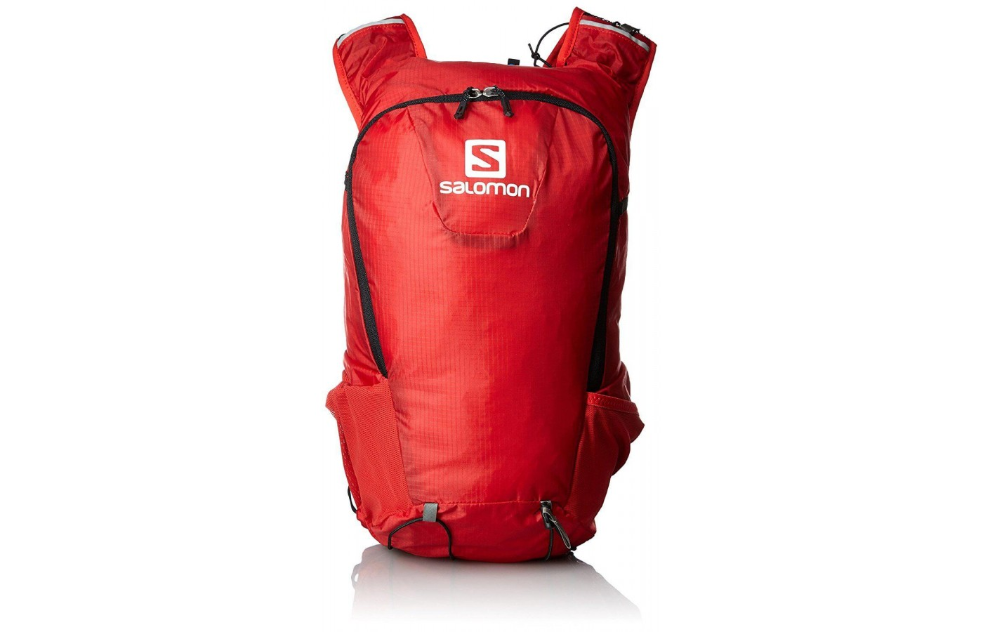 The Salomon Skin Pro 15 is a backpack for hiking on trails