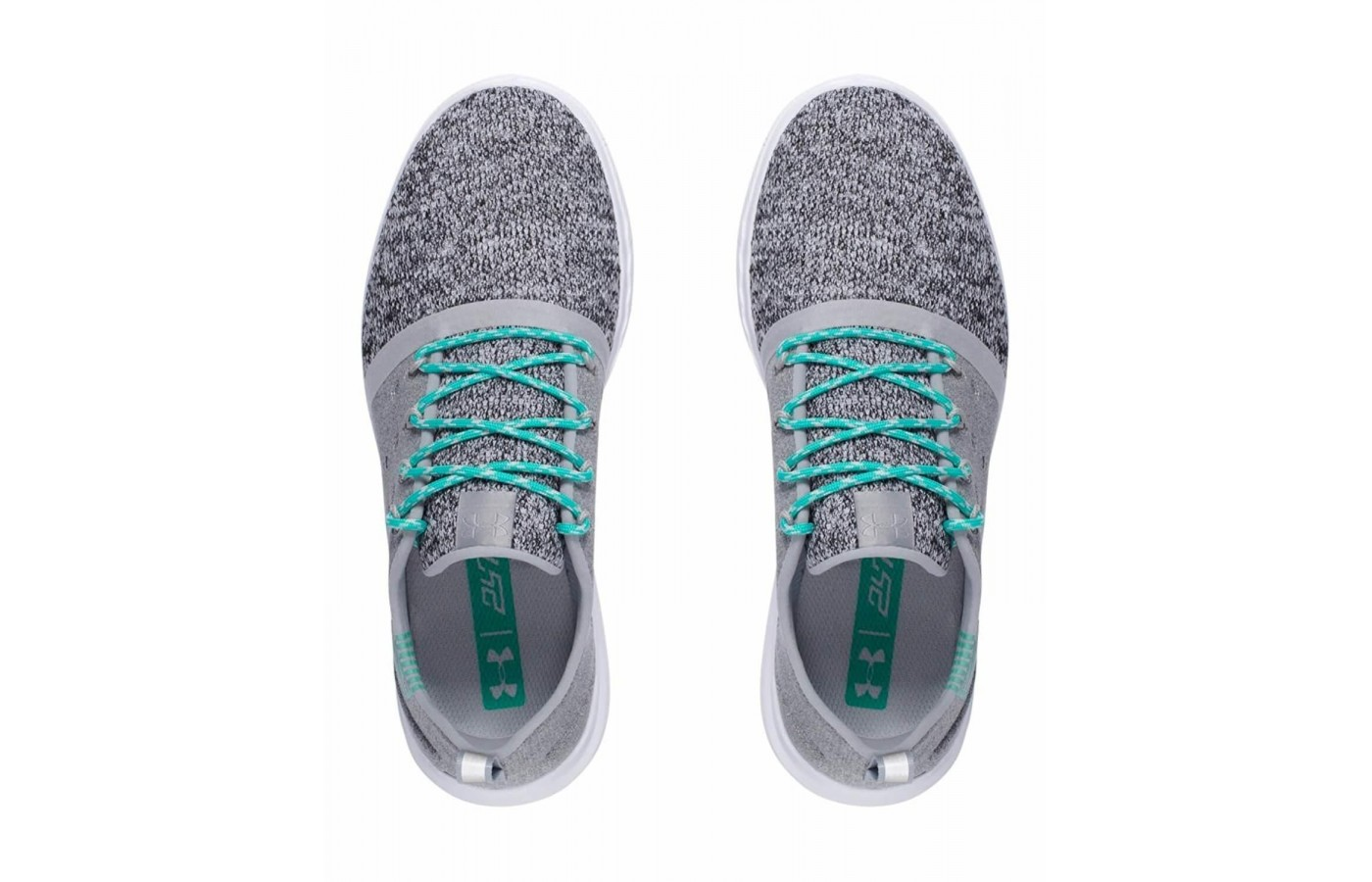 The Under Armour Charged 247 Low features a mesh forefoot construction