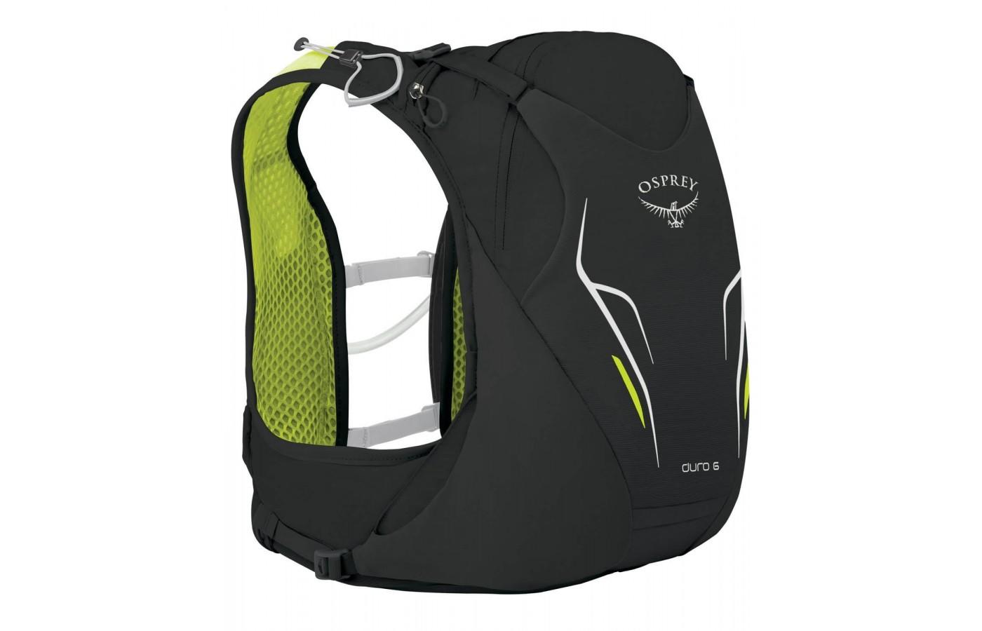 The Osprey Duro 6 is a durable hydration vest perfect for longer hikes or runs.