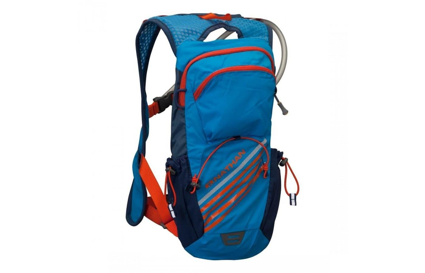 Nathan's Firestorm Hydration Vest is sleek, lightweight vest for runners, hikers, or cyclists.