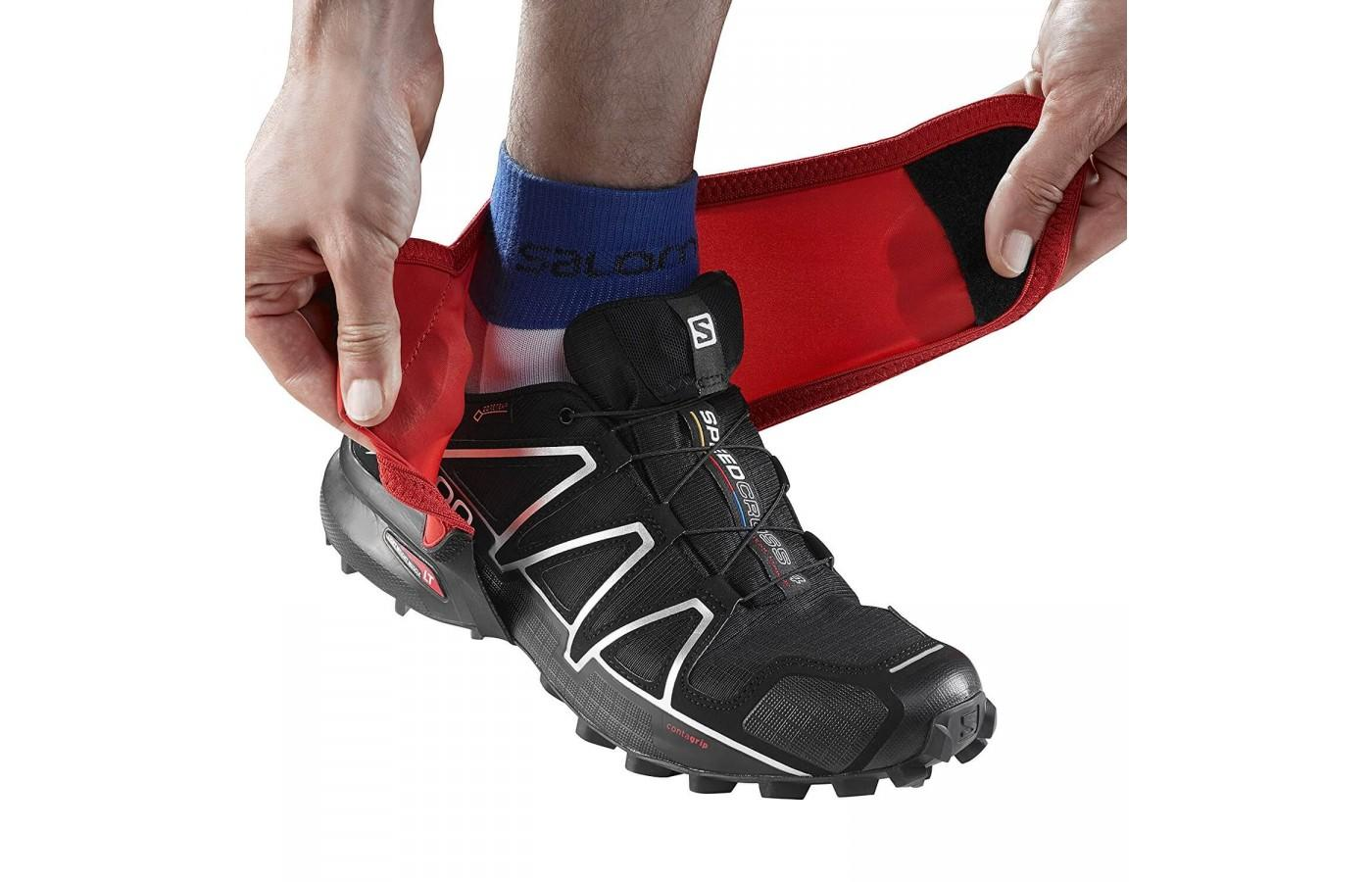 Runners appreciated that these gaiters easily fit over any shoes or hiking boots.