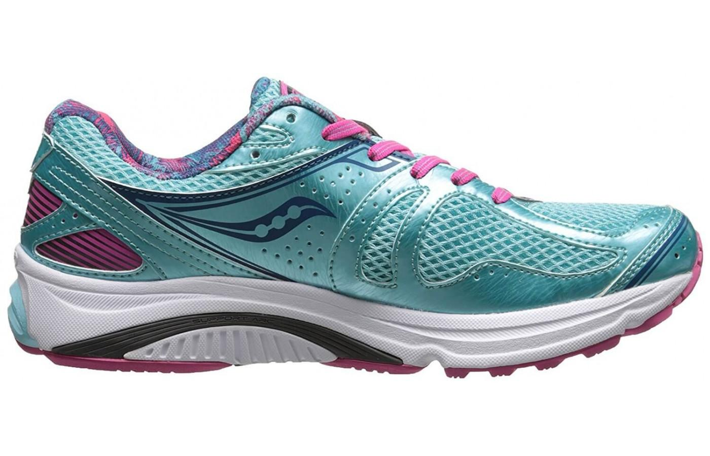 Runners will find mild to moderate pronation support in these shoes.