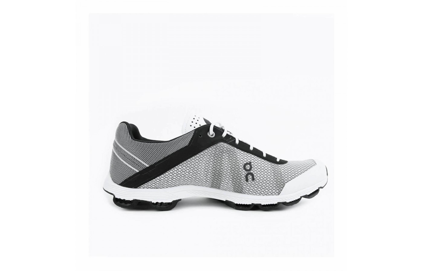 The On Cloudrush has a wafer-thin midsole called a Speedboard.