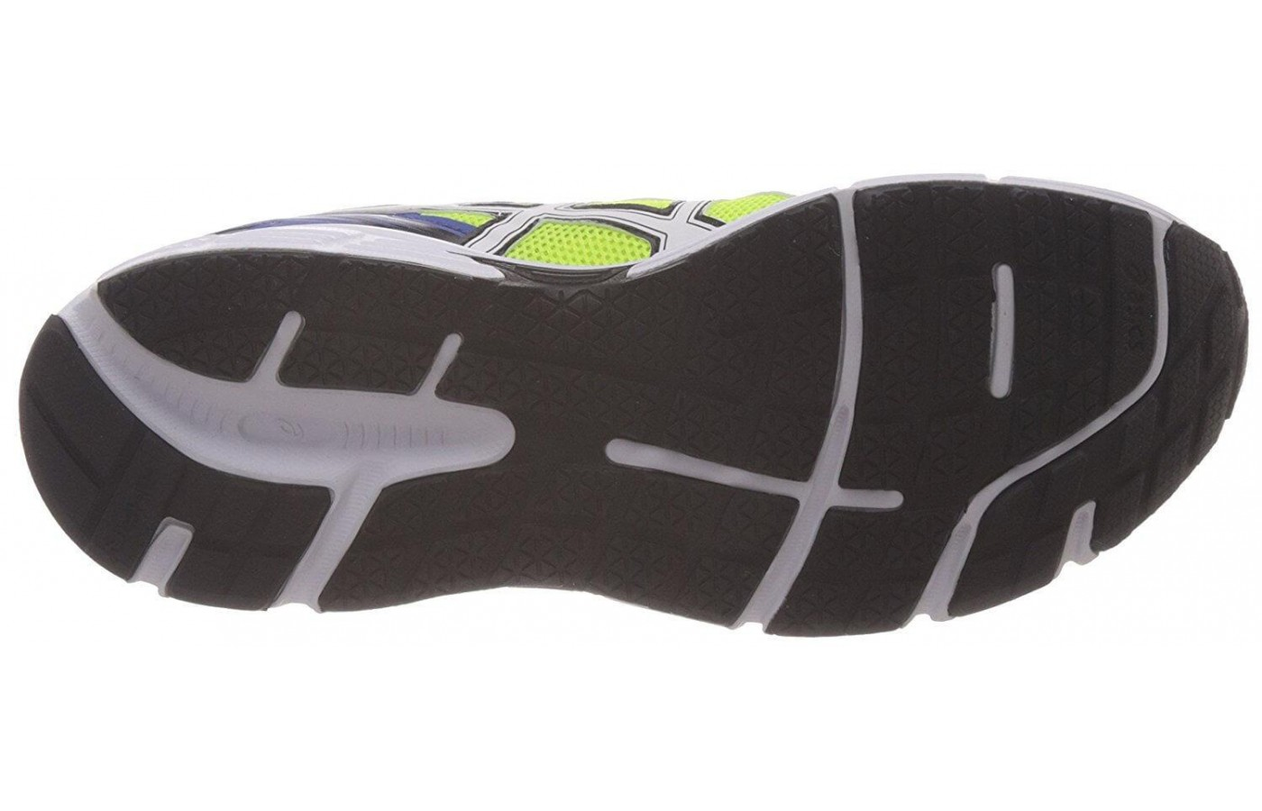 The outsole is made using Asic's patented High Abrasion Rubber for added durability