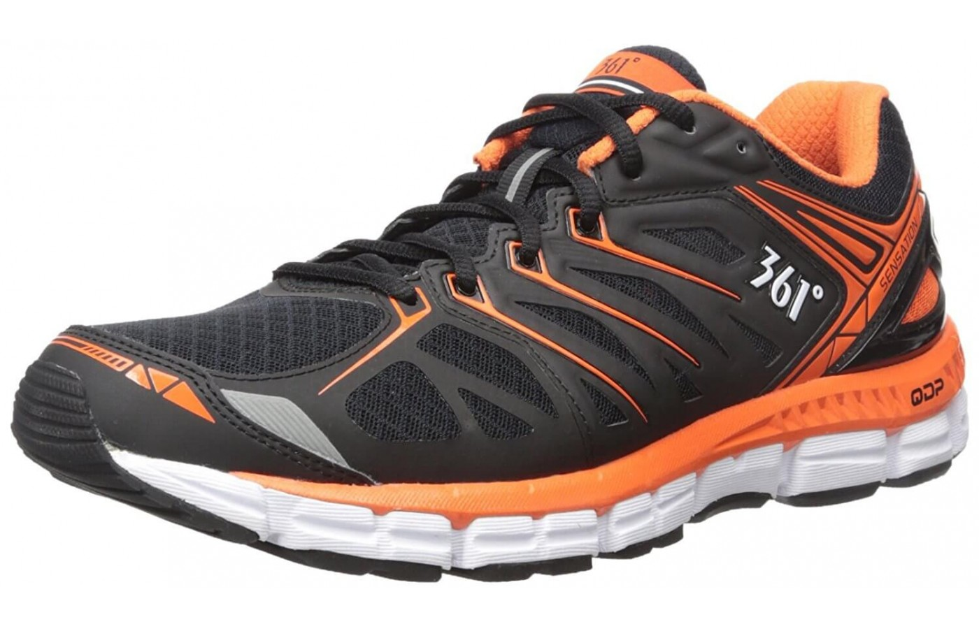 The original 361 Sensation features a sturdy shoe that is great for long miles.