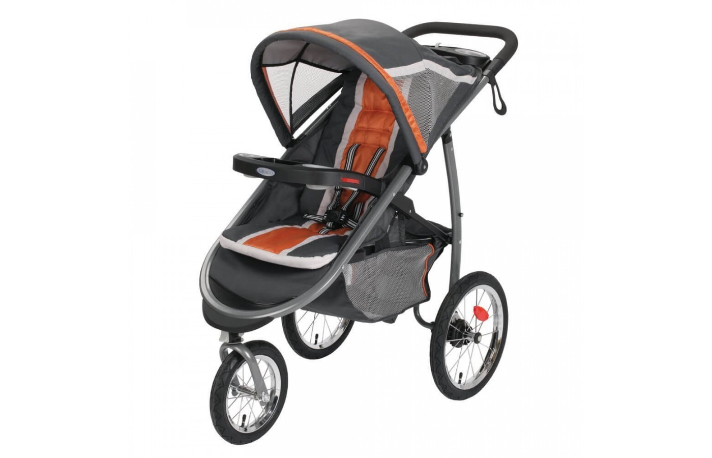 Graco FastAction Fold Jogger Click Connect Stroller is a lightweight, versatile jogging stroller that is great for jogging and day to day usage.