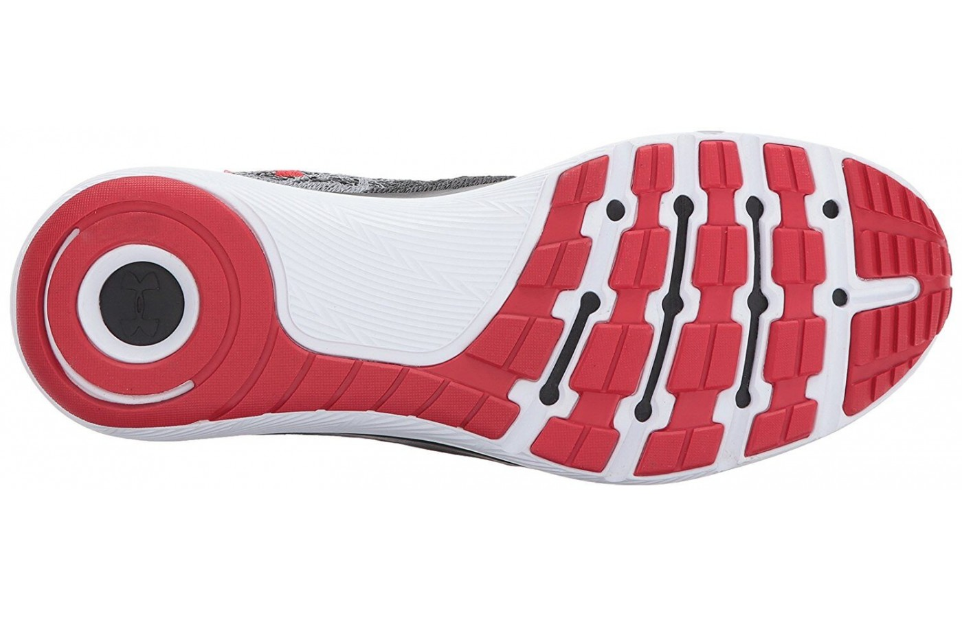 The unique designed of the outsole provides maximum traction.