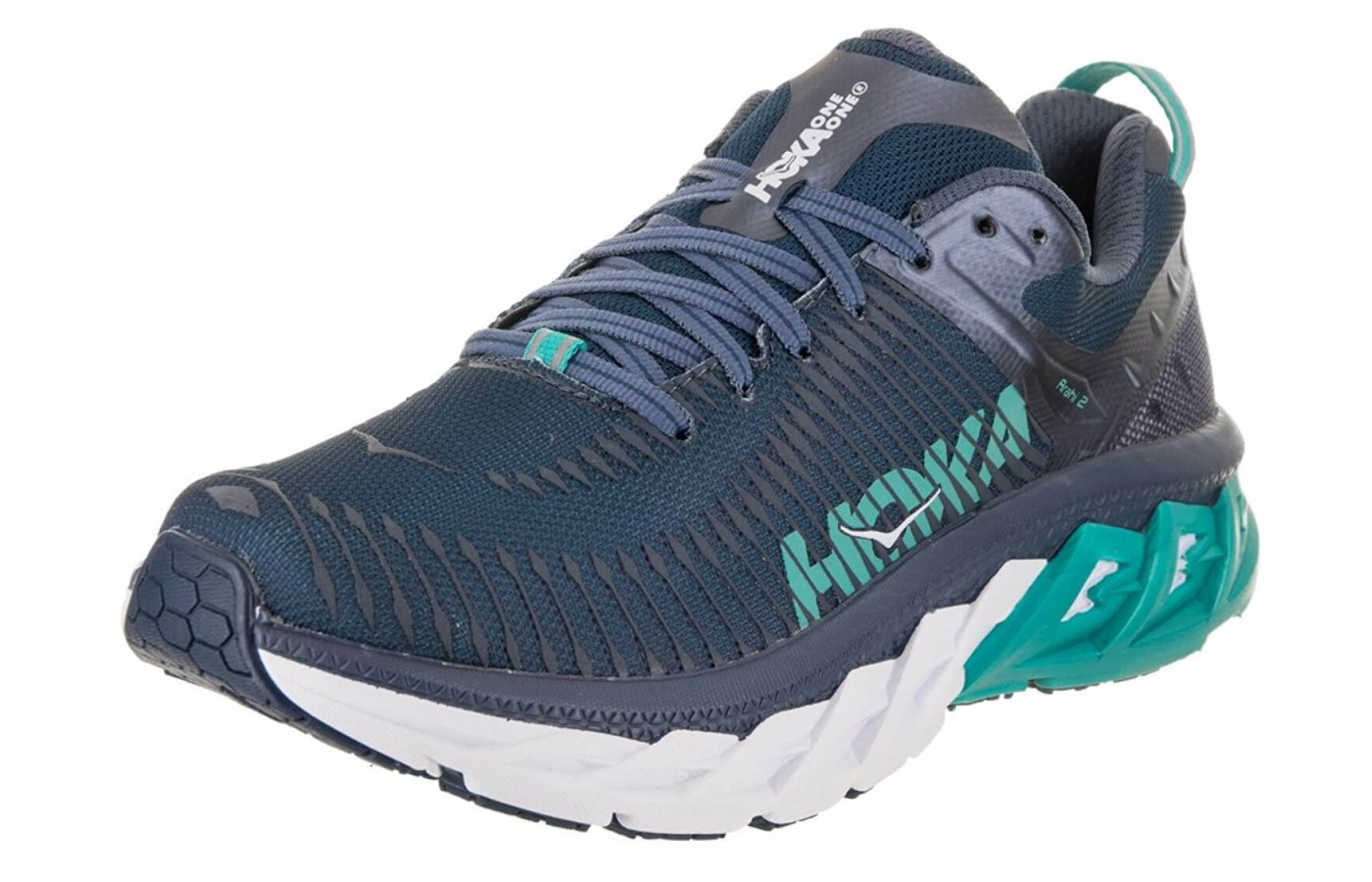 The Hoka One One Arahi 2 has a mesh upper