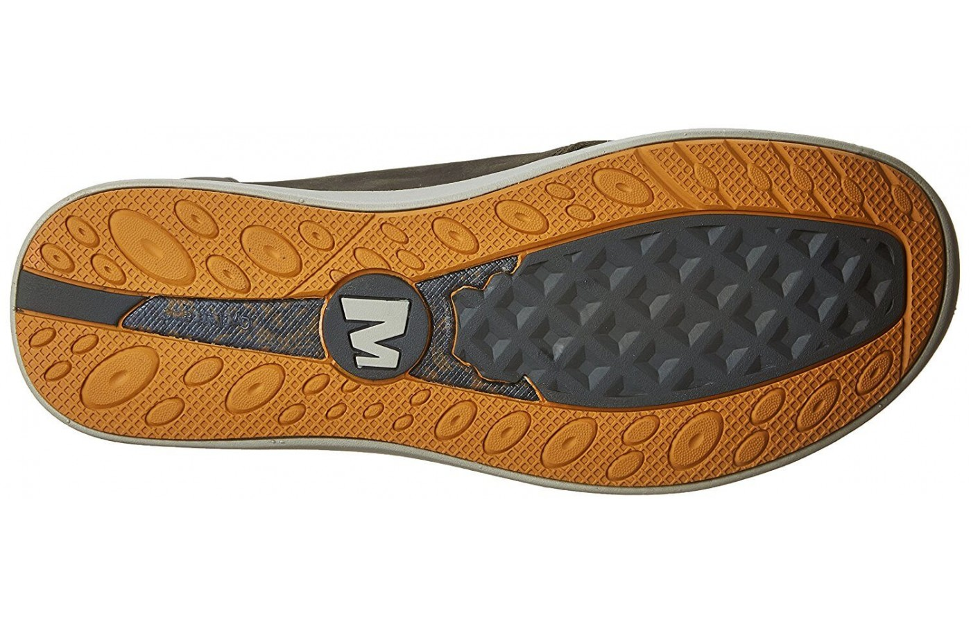 The Merrell Freewheel Lace features a CycleTread outsole