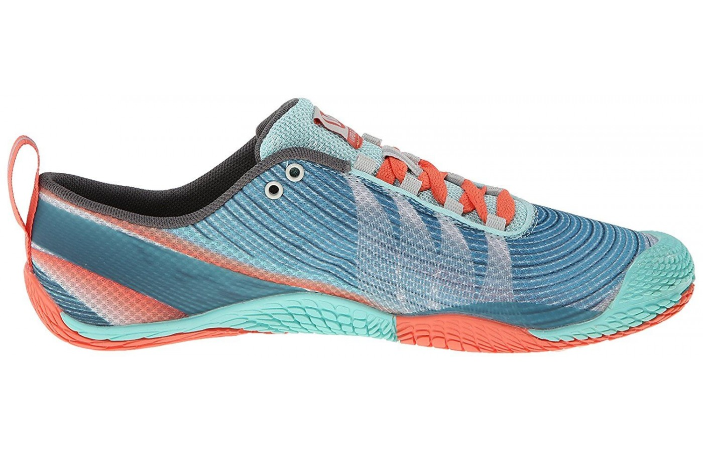 The Merrell Vapor Glove 3 features 2mm outsole lugs
