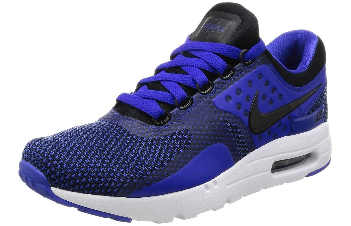 The Nike Air Max Zero Essential features Air cushioning in its heel