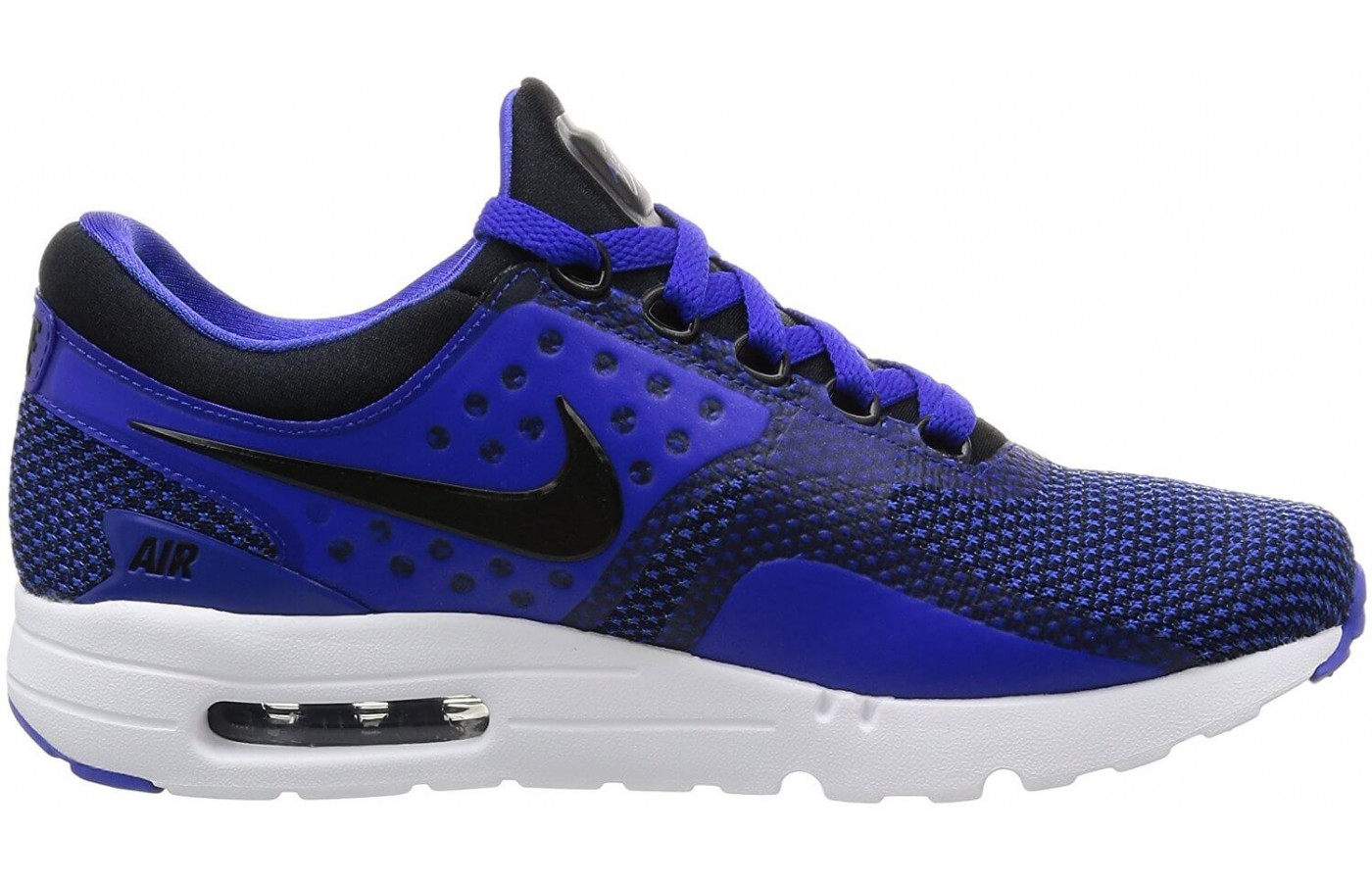 The Nike Air Max Zero Essential is a lightweight cushioned lifestyle shoe