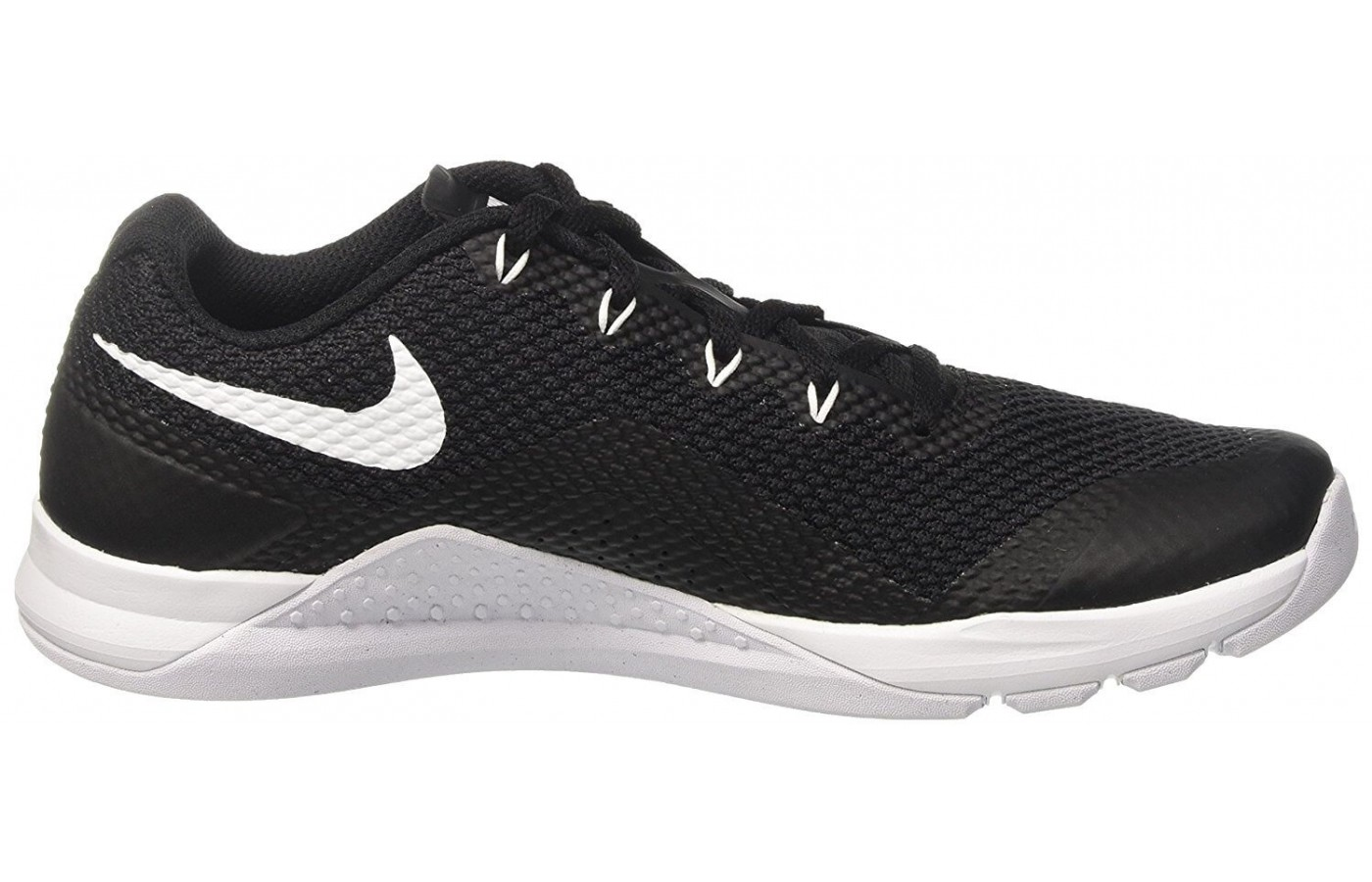 The Nike Metcon Repper DSX features a Flywire lacing system