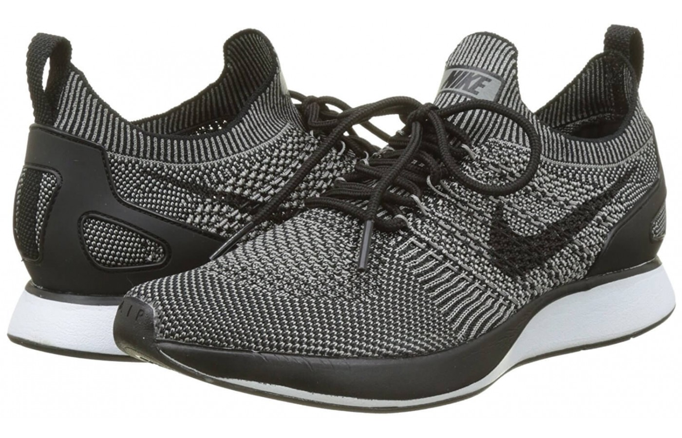 The The Nike Air Zoom Mariah Flyknit Racer features a sock-like upper
