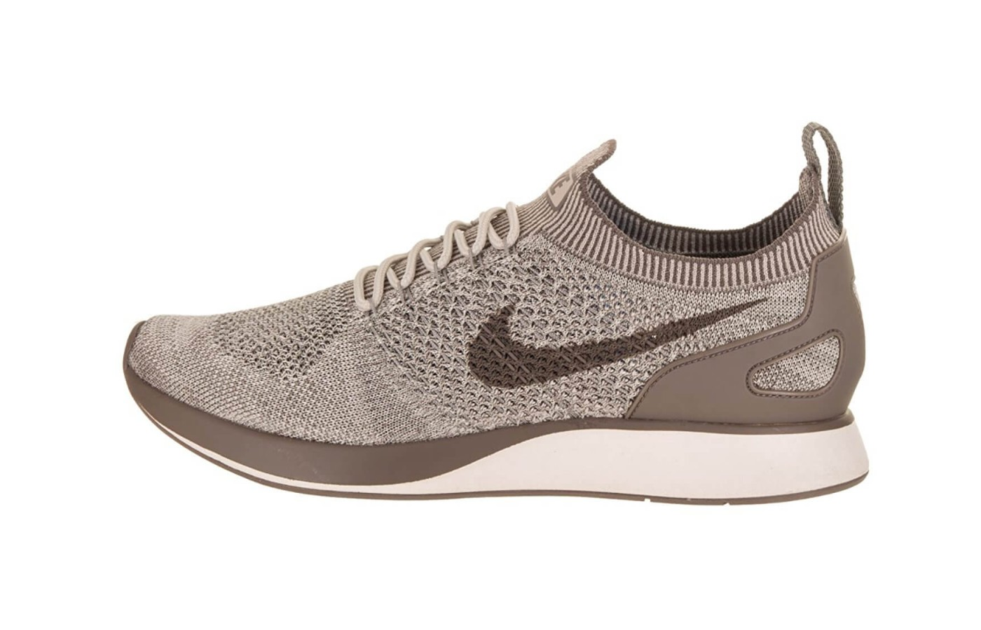 The Nike Air Zoom Mariah Flyknit Racer features Air Zoom midsole cushioning