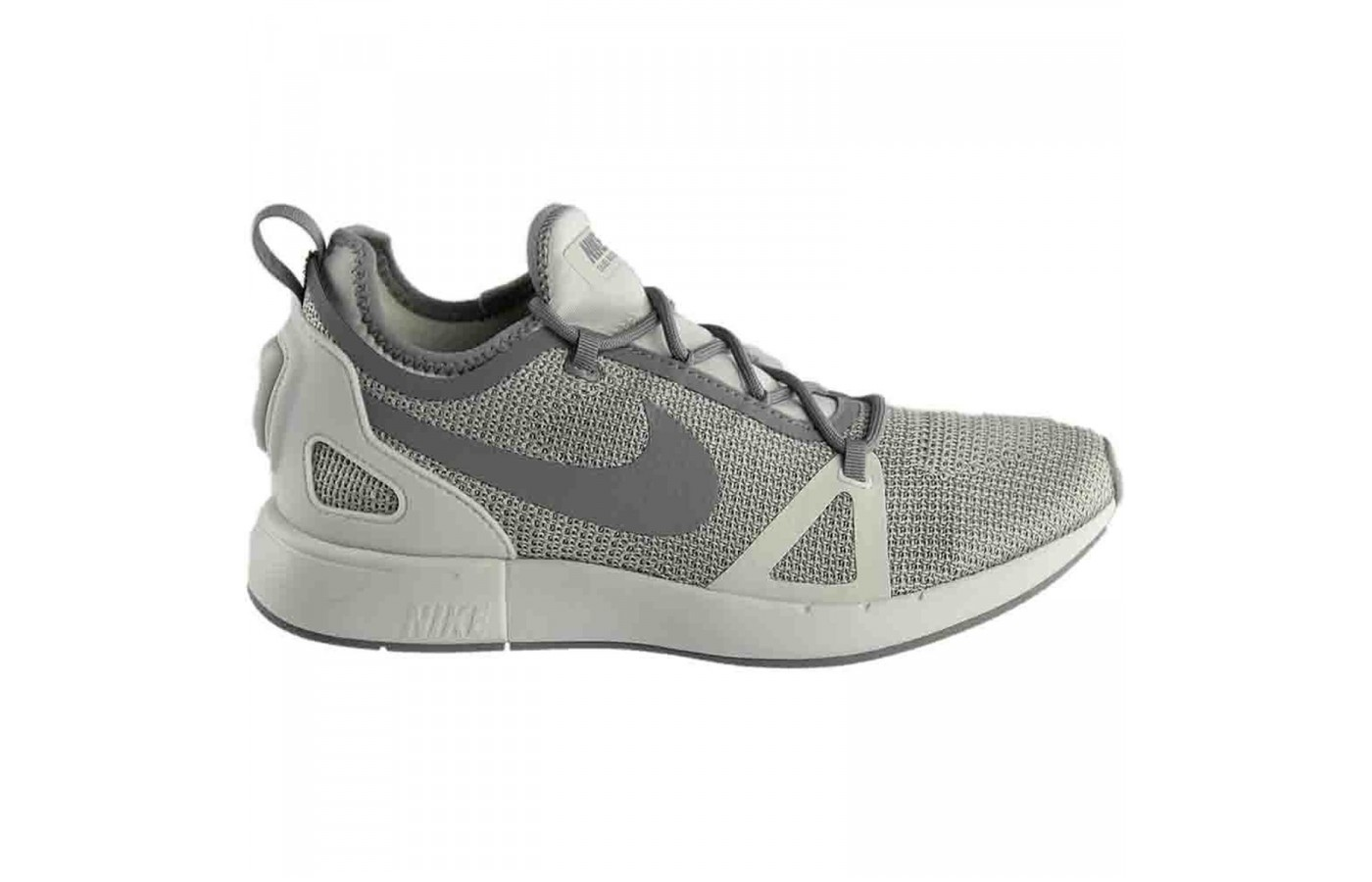 The Nike Duel Racer in a tri-toned grey colorway