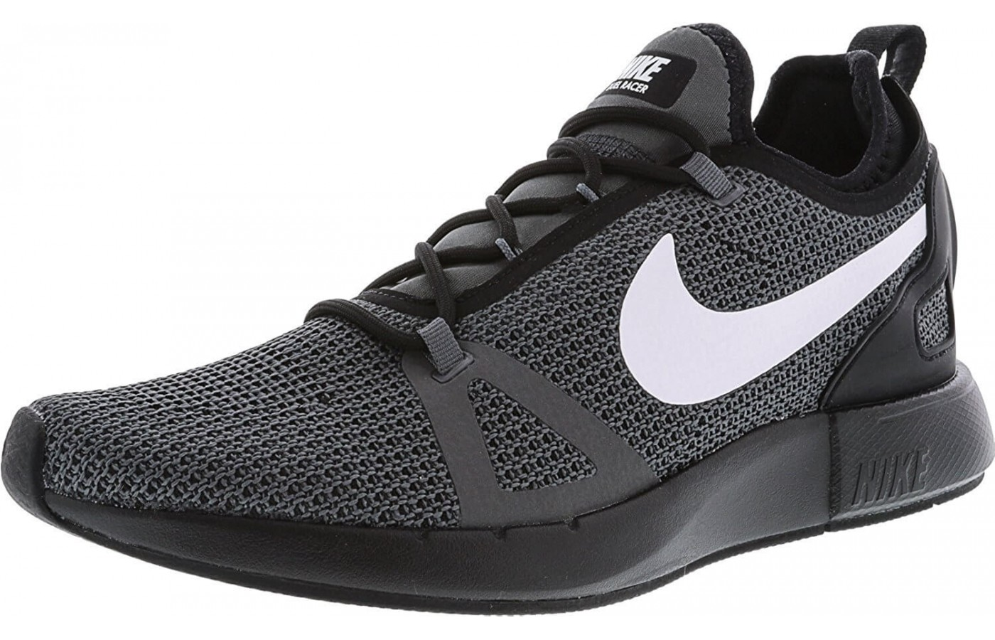 The Nike Duel Racer features a Phylon midsole