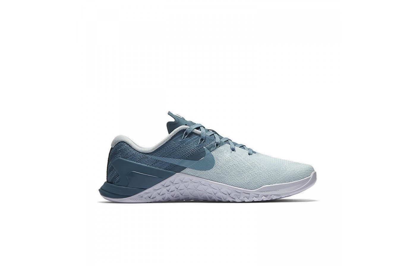 The Nike Metcon 3 features Flywire upper technology