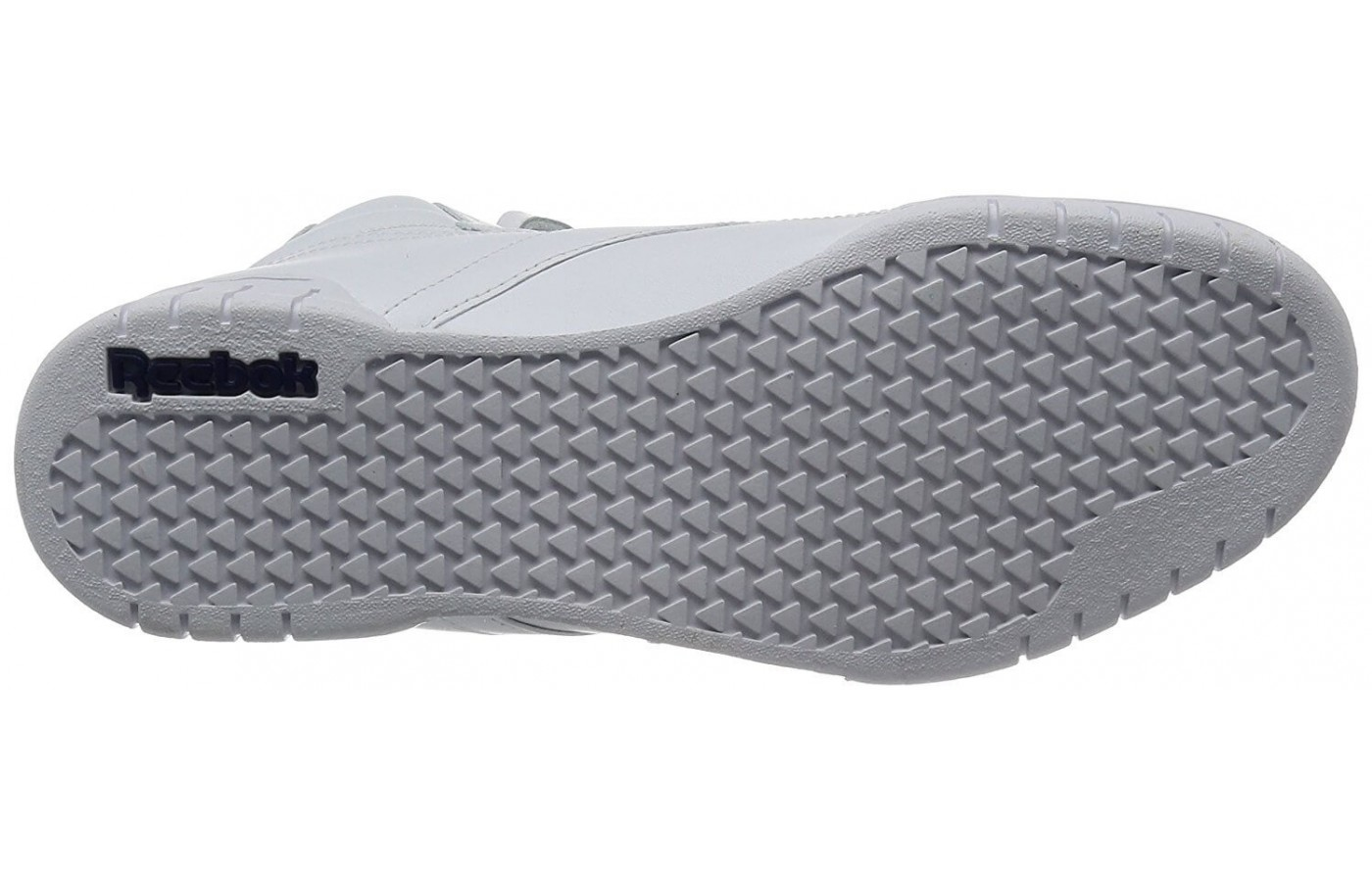 The Reebok Ex-O-Fit Hi has a rubber outsole