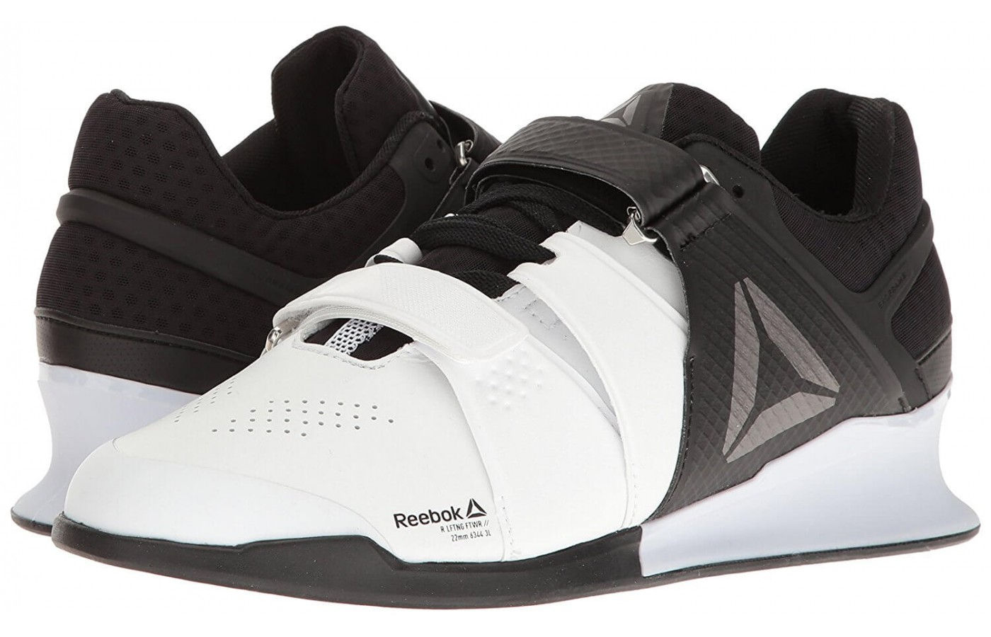 The Reebok Legacy Lifter features a 22mm drop height