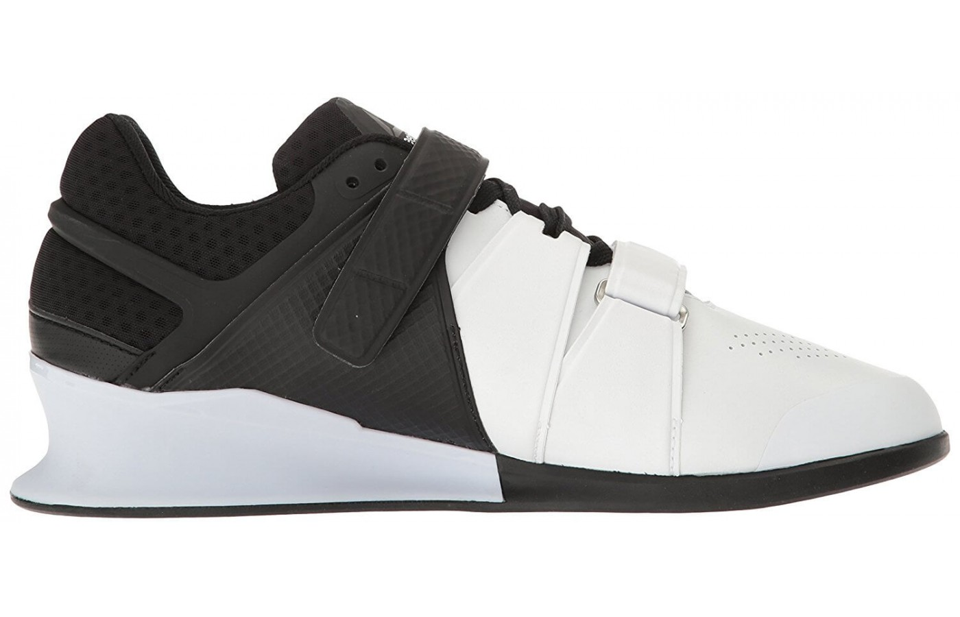 The Reebok Legacy Lifter has a leather upper